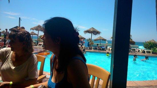 Hotel Best Benalmadena: con estas vistas....sin comentario.