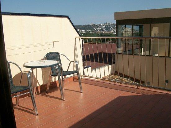 Hotel San Carlos : terrasse