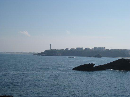 Biarritz Lighthouse: Vue sur le phare