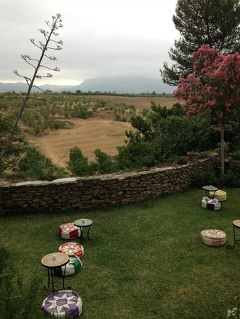 Hotel Jardin de la Muralla : Jardin Muralla- sheep in fields beyond