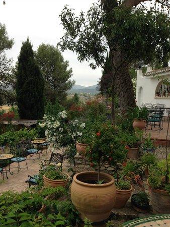 Hotel Jardin de la Muralla: Jardin Muralla- the garden