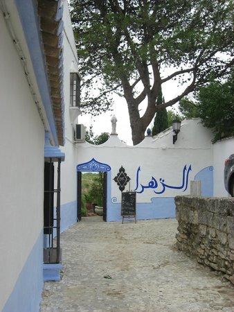 Hotel Jardin de la Muralla: Jardin Muralla- garden entry