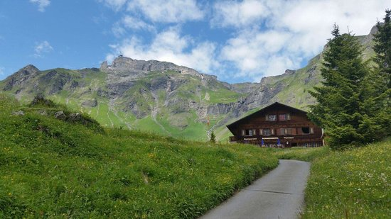 Pension Sonnenberg: The last part of the trek up to this little slice of heaven!