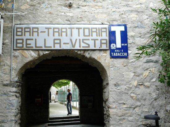 Ristorante Albergo Bellavista: vue de l'entrée