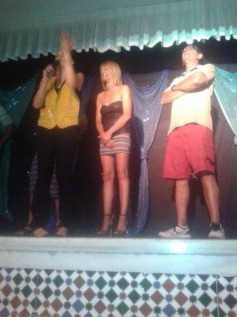 Playasol Spa Hotel: concursando