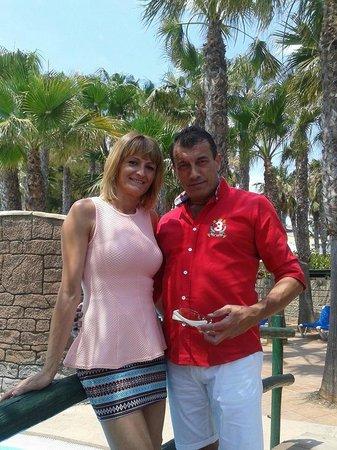 Playasol Spa Hotel: los dos