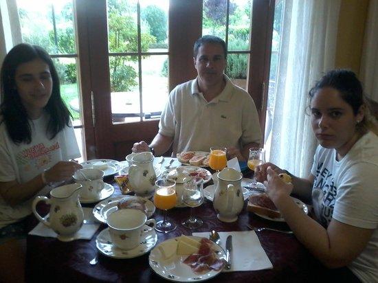 Posada Cabarceno: gran desayuno, de calidad