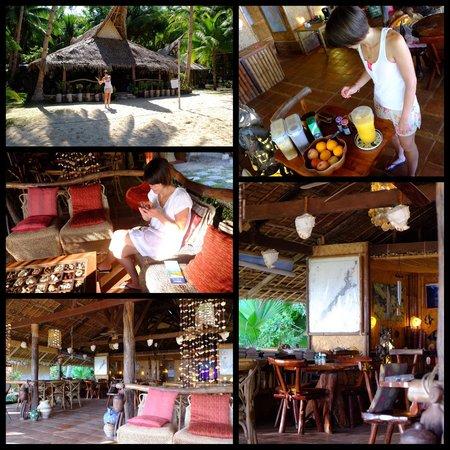 Flower Island Resort : Le restaurant