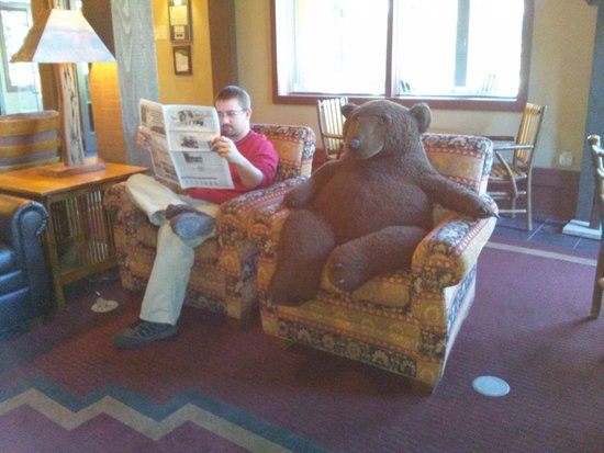 Wuksachi Lodge: Do you need the newspaper?