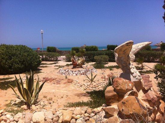 Hotel Al Jazira Beach & Spa : Un espace dans l'hotel