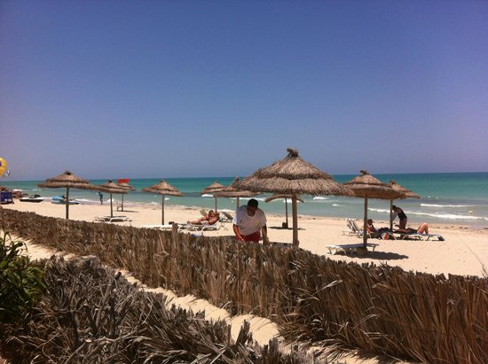 Hotel Al Jazira Beach & Spa : La plage en bordure de L'hotel