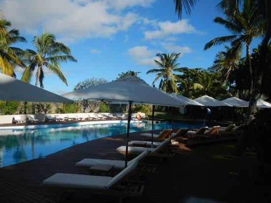 Solana Beach : Pool area