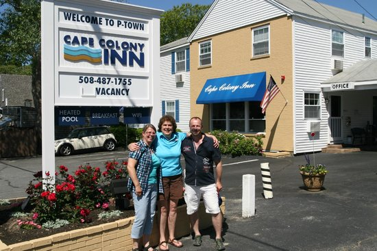 Cape Colony Inn: Frontansicht