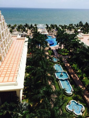Hotel Riu Palace Pacifico: View from the ocean view room
