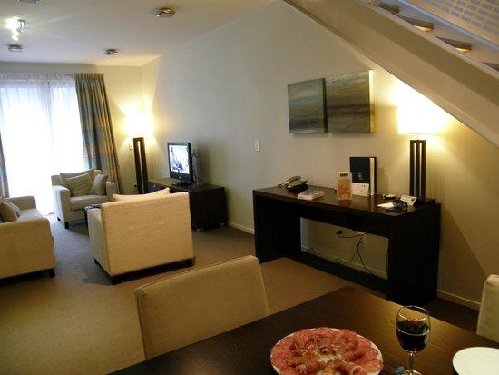 Boulcott Suites : Comedor/lounge