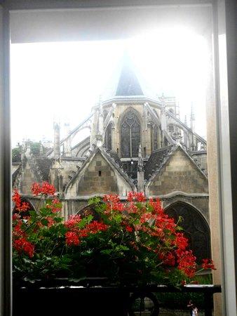 Henri IV Rive Gauche Hotel: Blick aus dem Zimmer