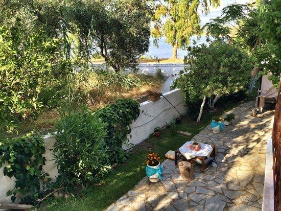 Villa Olga Lounge Hotel: Blick vom Balkon (Zimmer 1)