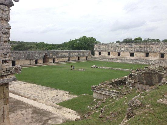 Temples d'Uxmal : Uxmal ruins