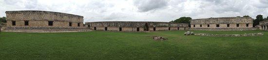 Temples d'Uxmal : Nobody around!