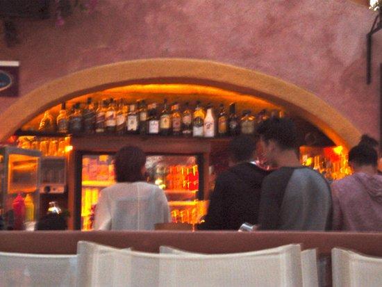 Open Air Cinema Kamari: the bar