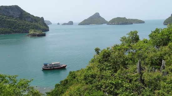 Ang Thong, Thailand: View of some of the islands