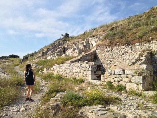 Ancient Thera ruins