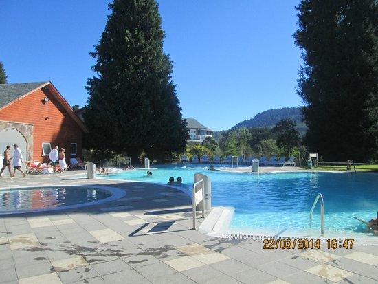 Termas Puyehue Wellness & Spa Resort: Zona de termas