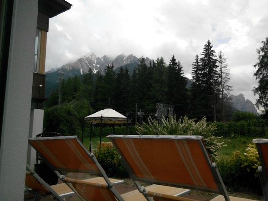 Parkhotel Bellevue: Aussicht vom Ruhebereich