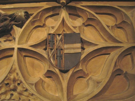 Gruuthusemuseum: Fireplace detail