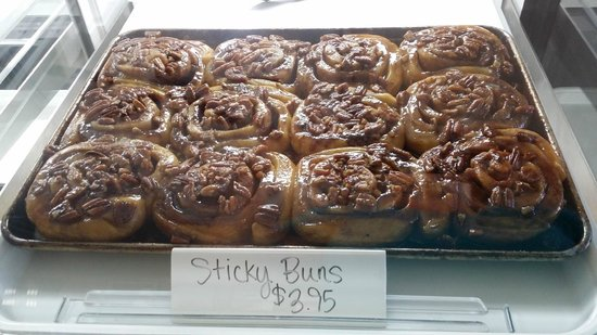 4th St. Cafe & Bakery: Pecan Sticky Buns