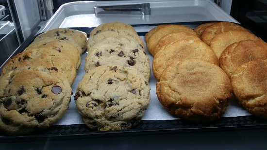 4th St. Cafe & Bakery : Our cookie assortment changes daily.