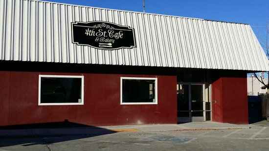 4th St. Cafe & Bakery : 1/2 mile off of I-5: head east on Hwy. 32, then turn right on 4th St. We are two blocks down.