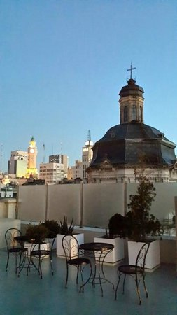 Moreno Hotel Buenos Aires: top roof
