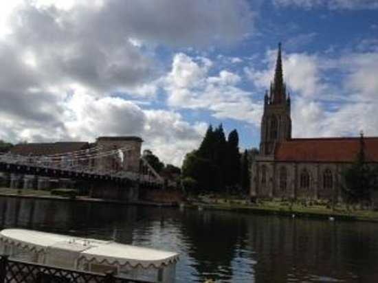 Macdonald Compleat Angler: the view from the hotel