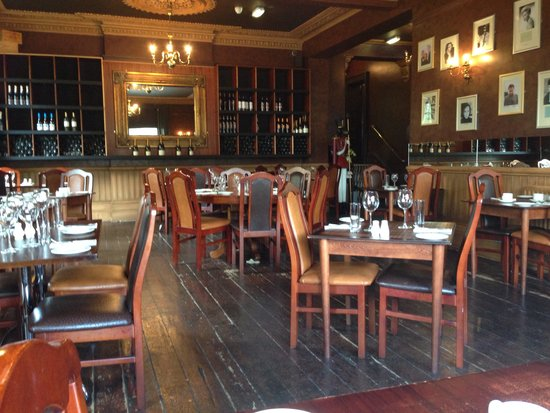 The Coquetvale Hotel: Restaurant
