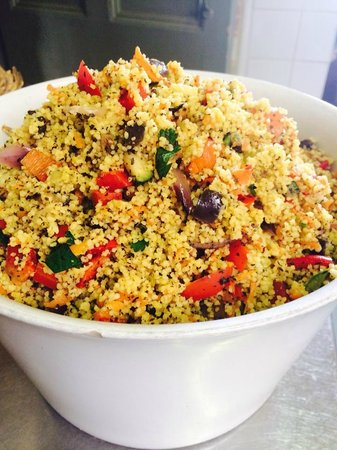 The Good Earth: Roast Veggie Couscous