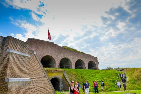 the top part of the fortress - picture of fort sint pieter