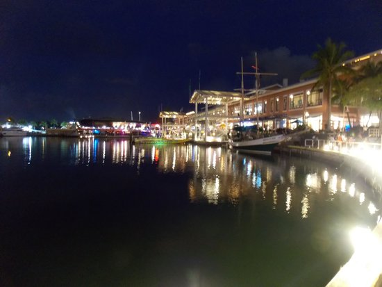 Bayside Marketplace : Bayside Miami Noche