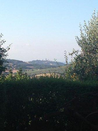 Antico Borgo il Cardino: Vista dal patio