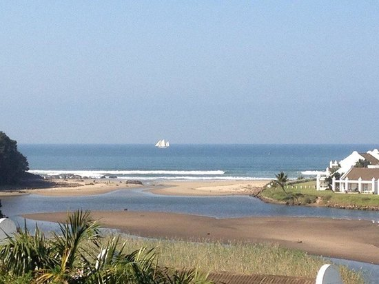 The Estuary Hotel & Spa: View from the Hotel