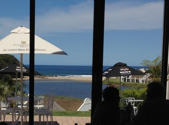 The Estuary Hotel & Spa: View from The Fish Eagle Restaurant