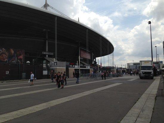 Stade de France : extérieur du stade