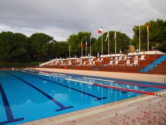 Atahotel Naxos Beach : Олимпийский бассейн