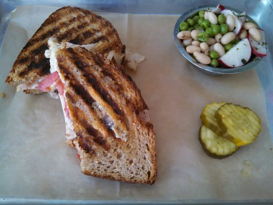 The Grove Cafe & Market : Toasty turkey sandwich