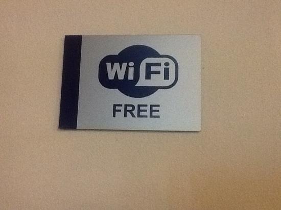 Gleneagles Hotel: WiFi available