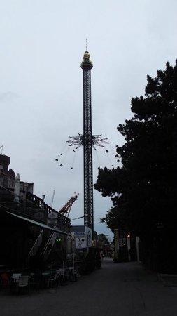 Wiener Prater: nerves of steel required here