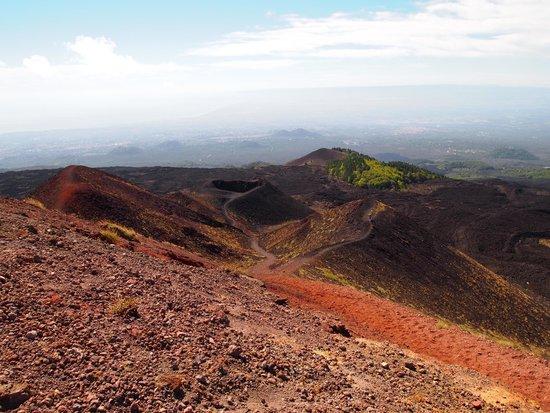 Monte Etna: На верху