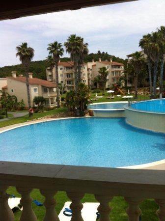 Aparthotel HG Jardin de Menorca: our room view