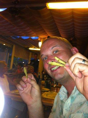 Aparthotel HG Jardin de Menorca: mmm calamari