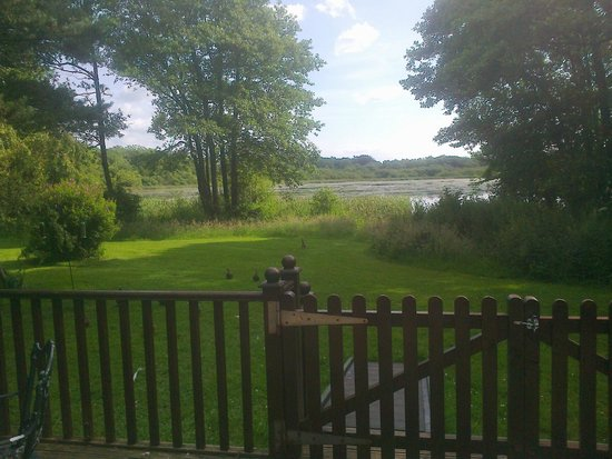 The Tranquil Otter: View from the decking